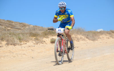 La quinta edición de la Ultrabike Lanzarote ya se siente
