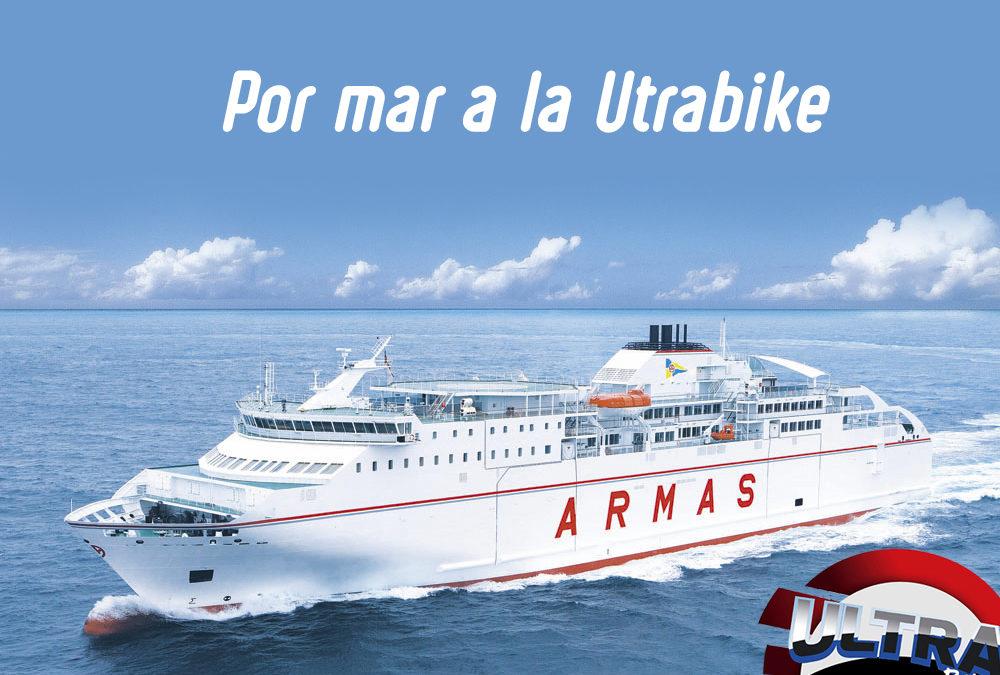 Acuerdo de colaboración entre Ultrabike Lanzarote y Naviera Armas